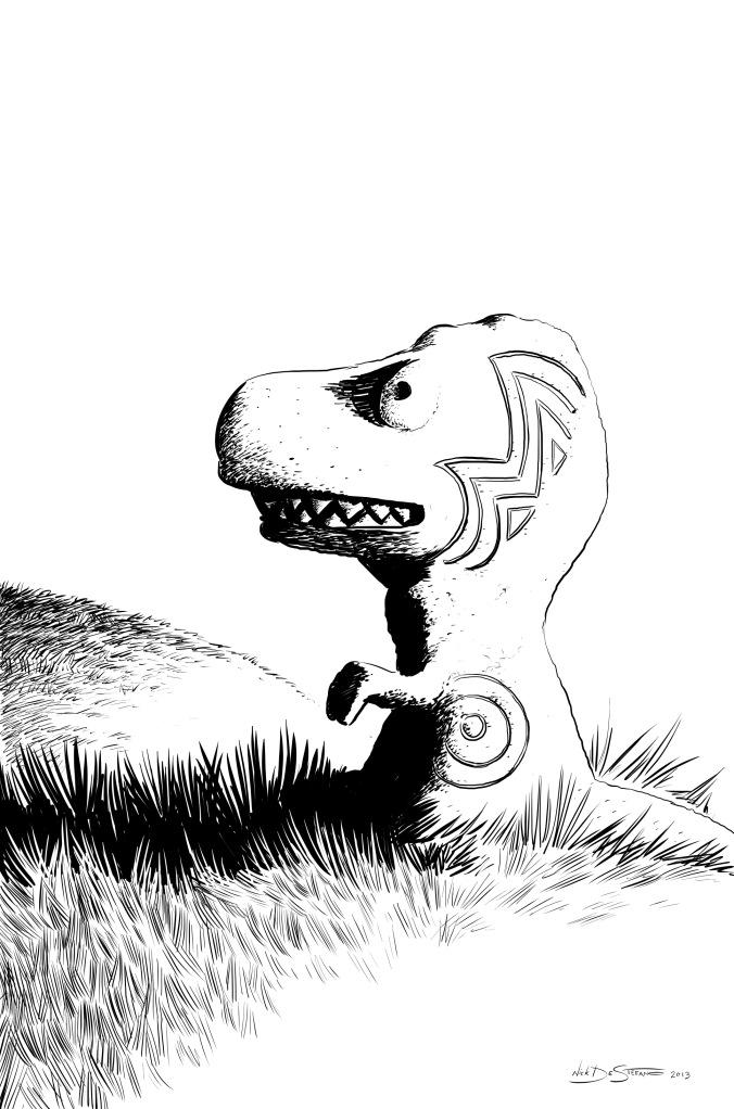 DinoStatue