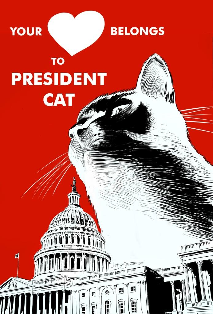 PresidentCat_Heart